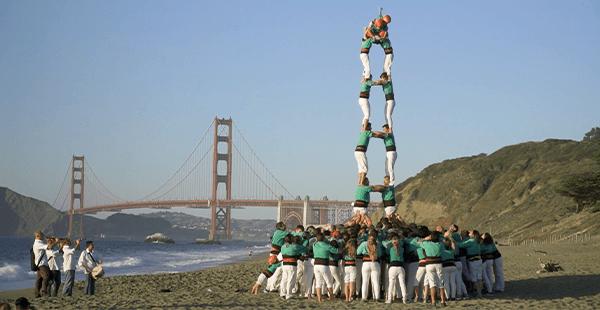 Castellers de Vilafranca – Califòrnia